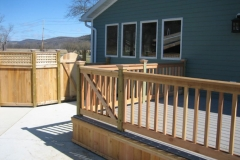 webber rail Custom Fence