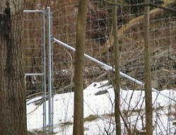 Deer Exclusion Whitmore Fence