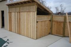 webber pool shed